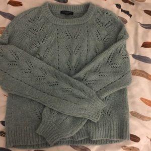 american eagle fuzzy sweater